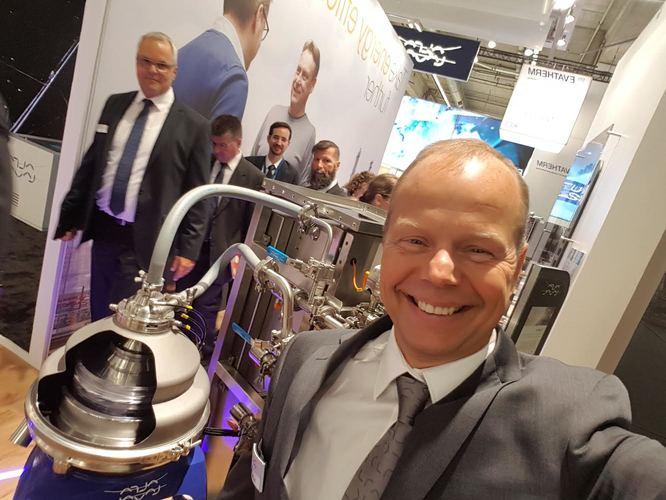 Alfa Laval Explore Tom Manelius centrifugal separators