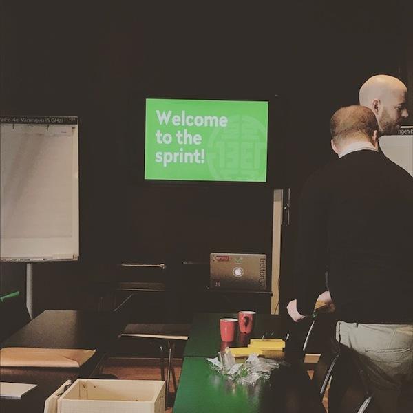 Design sprint week - a quick report