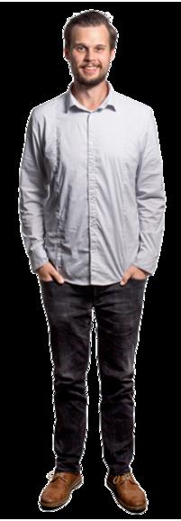 Karl Ecström full body image