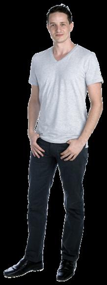 Agron Kabashi full body image