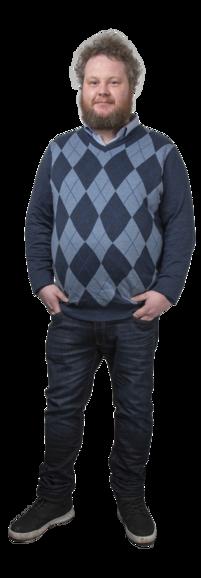 Daniel Waardal full body image