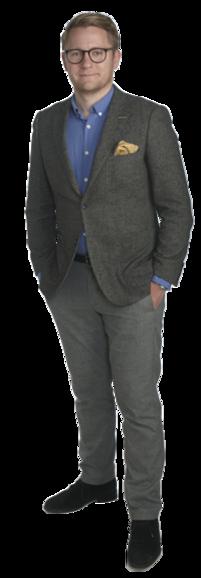Erik Forsberg full body image