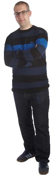 Erik Juhlin full body image