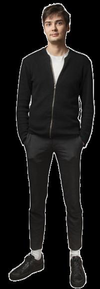 Erik Olsson full body image