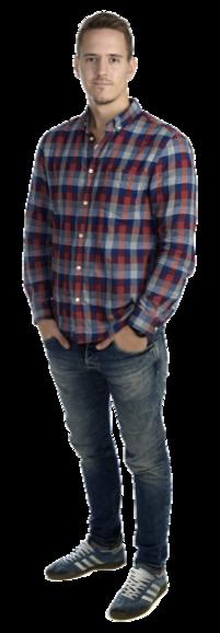 Filip Johansson full body image
