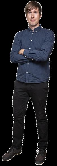 Joel Sjöström full body image