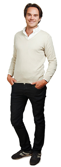 Johan Lundborg full body image