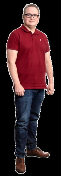 Klas Broberg full body image