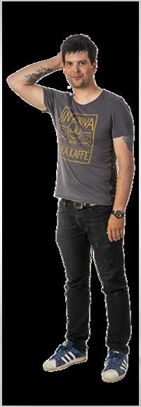 Linus Probert full body image