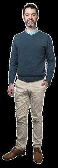 Lukas de Ridder full body image