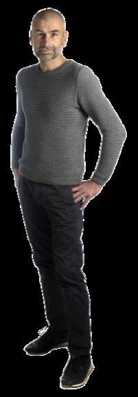 Martin Lekvall full body image