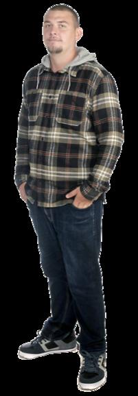 Nick Sandgren full body image