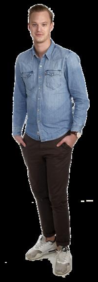 Niclas Fredriksson full body image
