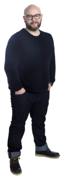 Nicolas Delfino full body image