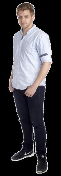 Niklas Frank full body image