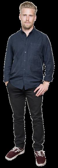 Oskar Mossberg full body image