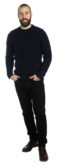 Pontus Ohlsson full body image