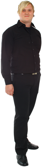 Sebastian Hallén full body image