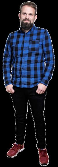 Stefan Wiklund full body image