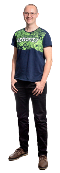 Tomas Kristiansson full body image